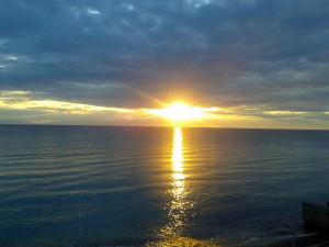 Sunset Fourka Halkidiki