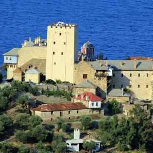 Mount Athos Monastry