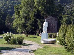Aristotle park in Stagira