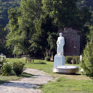 Aristotle park in Stagira