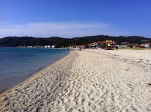 Fourka beach Halkidiki