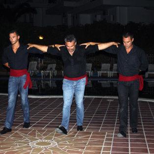 Ελληνική βραδιά, Χαλκιδική